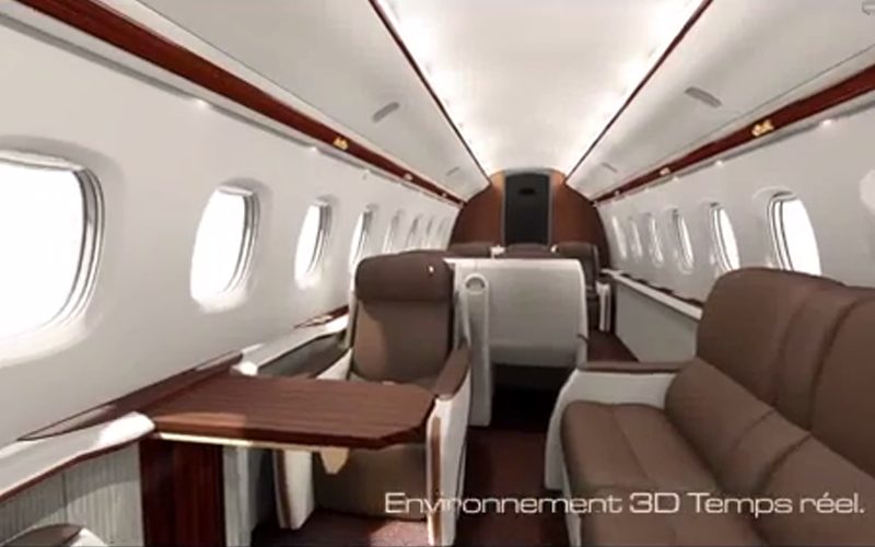 Meconopsis - Configurateur d'interieurs d'avions